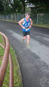 Michael Lehmberg auf dem Weg zur nächsten Etappe